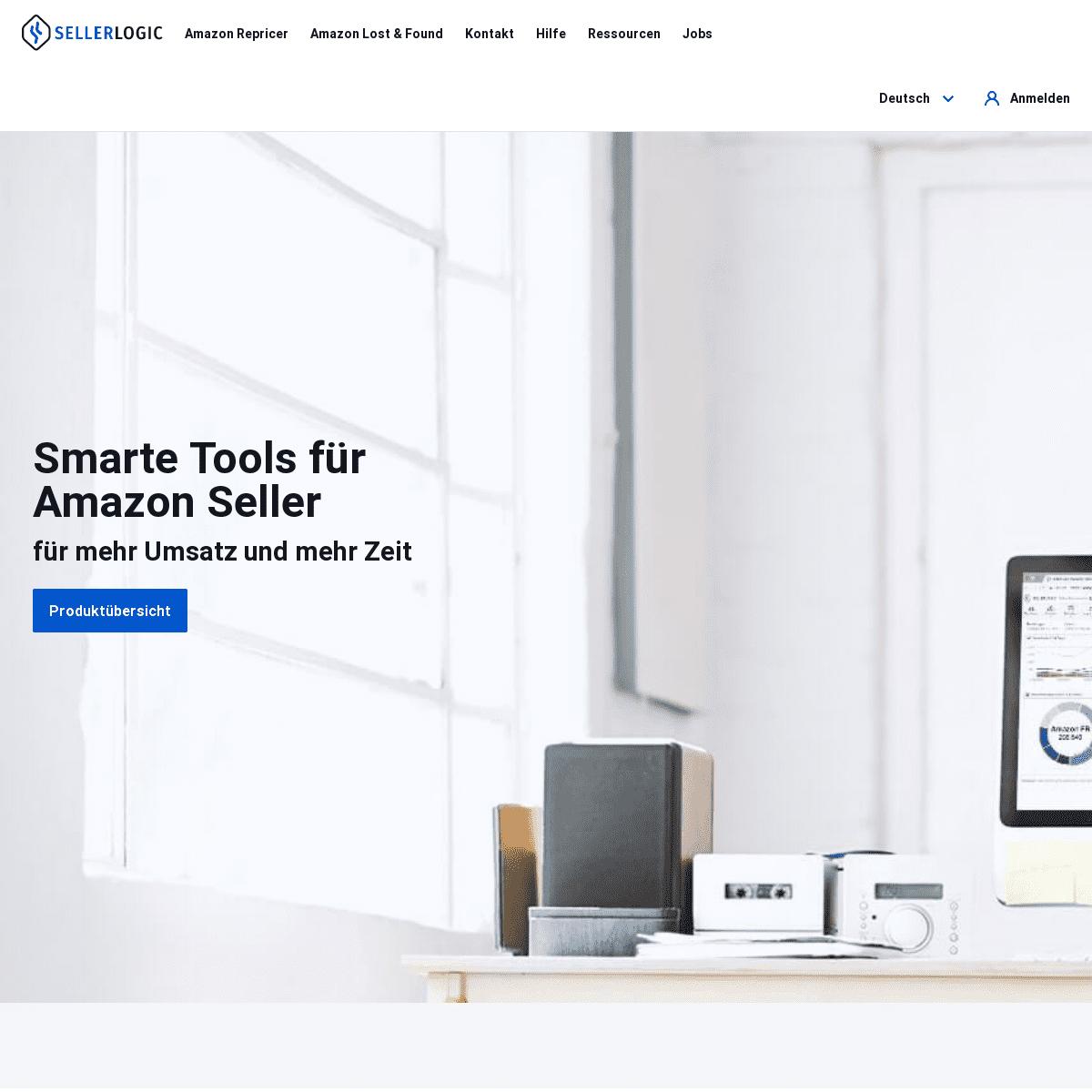 SellerLogic - Smarte Tools für Amazon Verkäufer