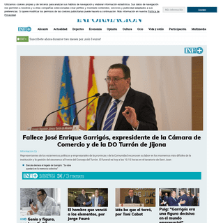 INFORMACION.ES- Noticias de Alicante, Comunidad Valenciana, Deportes, España