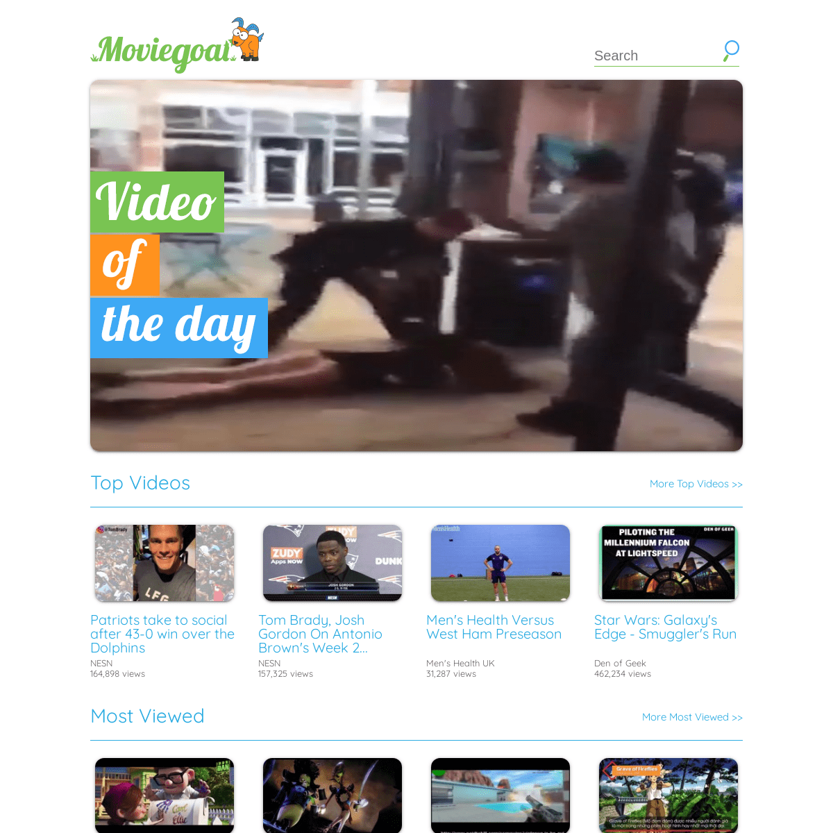 Moviegoat - Video Of The Day