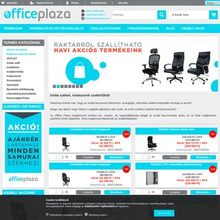 Irodai Székek és Irodaellátás Szakértőktől - Office Plaza Webáruház