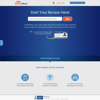ArchiveBay.com - reviewbuzz.com - ReviewBuzz- Helping Good People Get Great Online Reviews