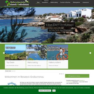 Reiseeck Großschönau die Mallorca Spezialisten