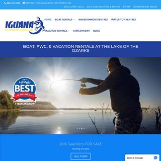 ArchiveBay.com - iguanawatersports.com - Iguana Boat Rentals Lake of the Ozarks