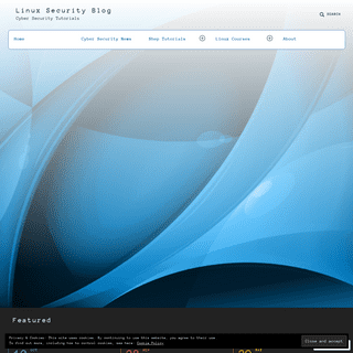 Linux Security Blog – Cyber Security Tutorials