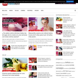 vervideoaqui.com - Los mejores tips, recetas y consejos caseros con o sin videos.
