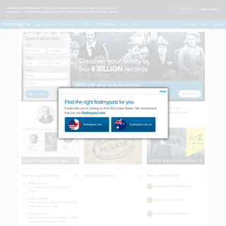 Trace your Family Tree Online - Genealogy & Ancestry from Findmypast - findmypast.com.au