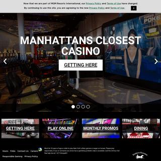 Empire City Casino - Slots, Poker, Blackjack - Yonkers NY