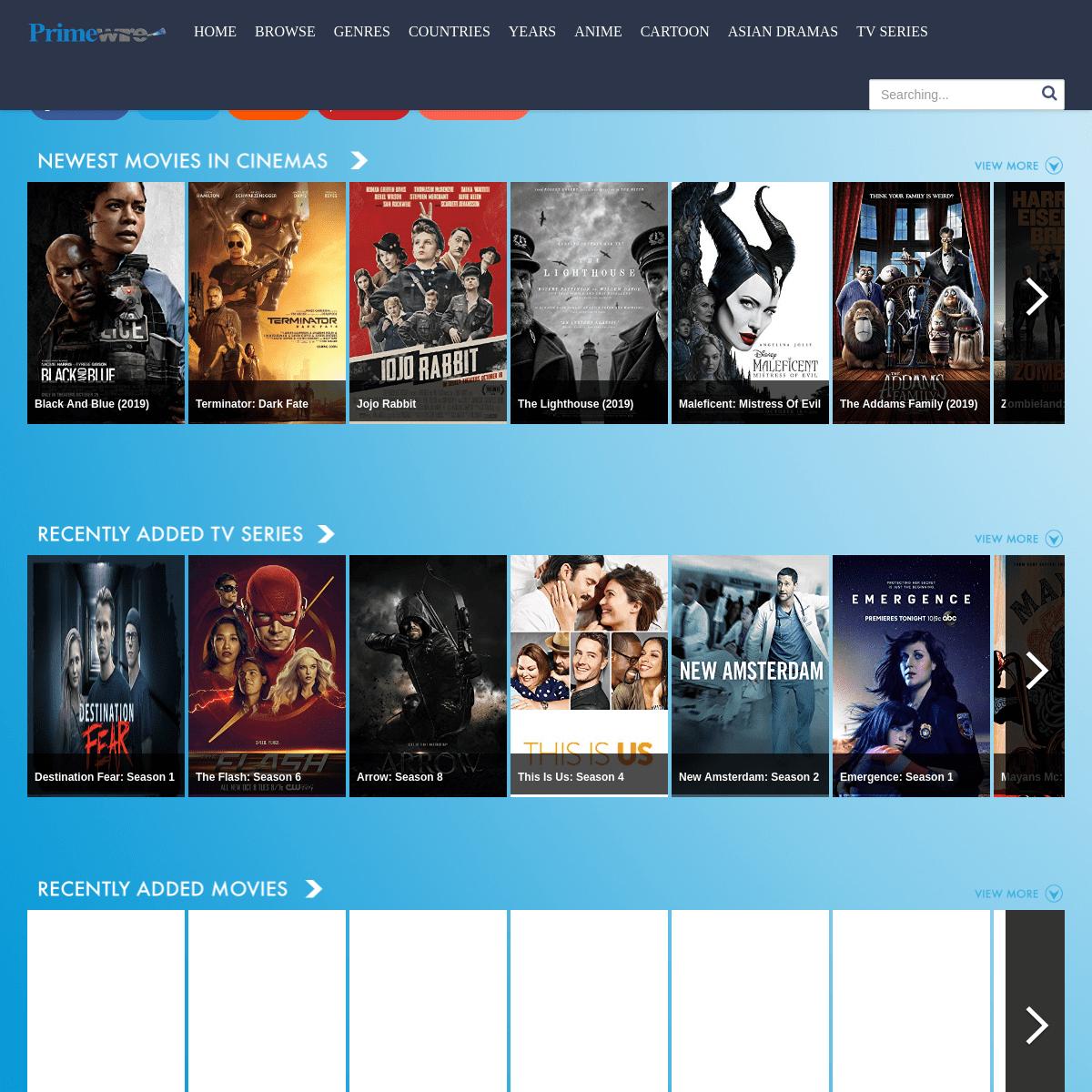 PrimeWire - Watch Movies Online Free & TV Series Fast Stream