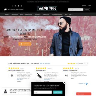 Online Vape Shop- Mods, Tanks, Eliquid & More - Discount Vape Pen