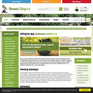 ArchiveBay.com - bonsai-shop.cz - Venkovní a pokojové bonsaje - prodej - Bonsai-shop.cz