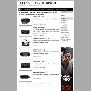 SOFTWARE DRIVER PRINTER - Download Driver Printer Canon Epson Hp Brother