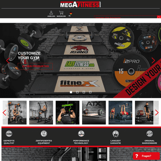 Megafitness.Shop - Ihr Kraftsport-Fachhändler