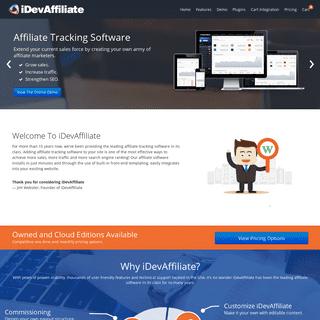 iDevAffiliate - Affiliate Tracking Software - Affiliate Program Software