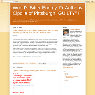 ArchiveBay.com - dianethompson3.blogspot.com - Wuerl's Bitter Enemy, Fr Anthony Cipolla of Pittsburgh -GUILTY- !!