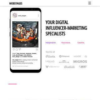 WebStages - Digital Influencer-Marketing Agentur