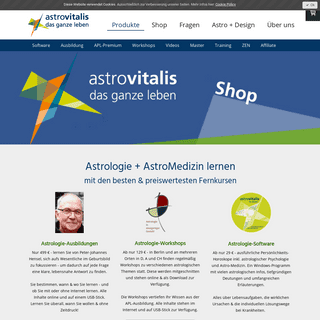 Astrologie lernen - Astrologie-Studium 499€ - Software 29€