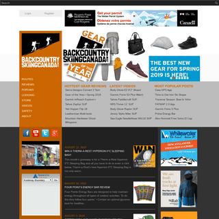 ArchiveBay.com - backcountryskiingcanada.com - Home