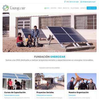 ArchiveBay.com - energizar.org.ar - Fundación Energizar