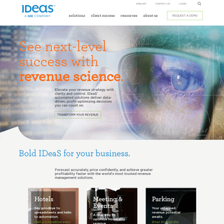 Revenue Management Solutions Powered by Revenue Science - IDeaS Revenue Solutions