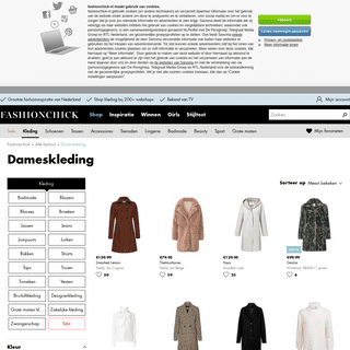 Dameskleding online kopen - Fashionchick.nl - Mode 2019