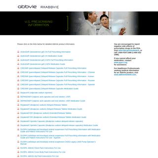 A complete backup of rxabbvie.com