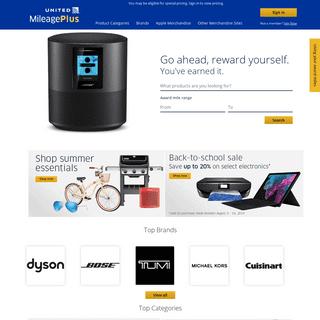ArchiveBay.com - mileageplusawards.com - MileagePlus Merchandise Awards