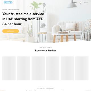 House Cleaning Services in UAE - Justmop UAE