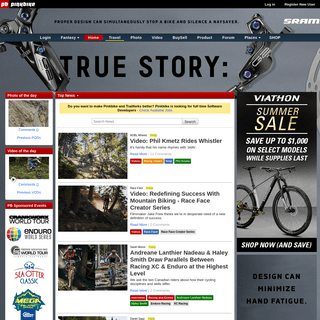 Mountain bike news, photos, videos and events - Pinkbike