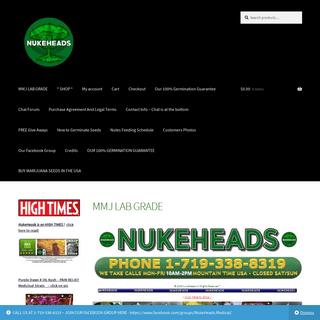 MMJ LAB GRADE – NUKE HEADS