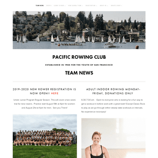 A complete backup of pacificrowingclub.org