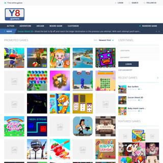 Y8 Games - Free online games