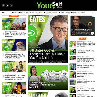 Yourself Quotes - Get Inspired By The Quotes