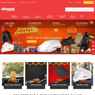 Elegant Auto Retail - India's No 1 Automotive Lifestyle Website and Retail Stores Network
