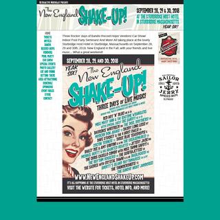 ArchiveBay.com - newenglandshakeup.com - The New England Shake-Up!