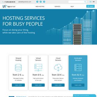 Shared Hosting, VPS, Dedicated Servers - ISPserver