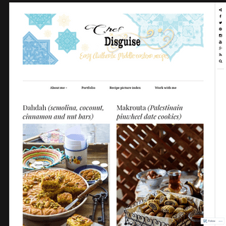 Chef in disguise – Easy authentic middle eastern recipes