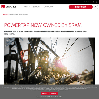 PowerTap Now Owned by SRAM – Quarq