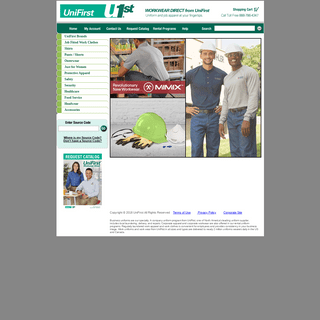 Workwear Direct - Buy Uniforms and Workwear Online - UniFirst