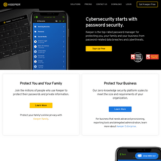 Best Password Manager & Secure Vault - Keeper Security