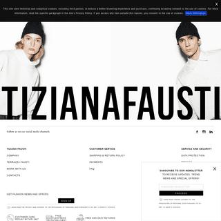Tiziana Fausti - Fashion and luxury clothing