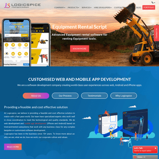 Web, iPhone & Android App Development Company - Logicspice