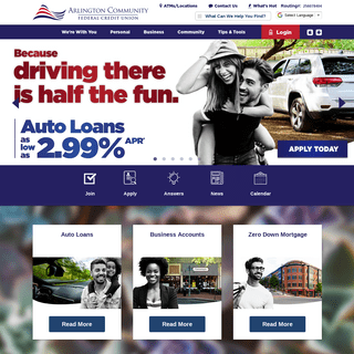 ArchiveBay.com - arlingtoncu.org - So Much More Than A Bank - Arlington Community Federal Credit Union