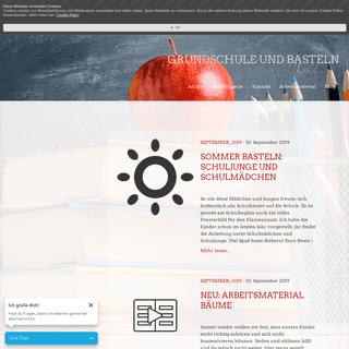 Blog - Grundschule und Basteln - Der Blog von Beate Kurt