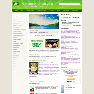 The Vegetarian Resource Group (VRG)