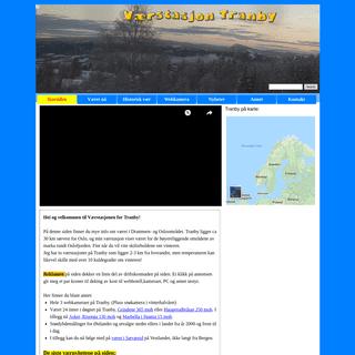 Værstasjon Tranby Alt om været lokalt i Lier og Vestmarka