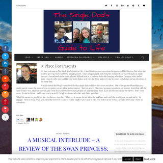 The Single Dad's Guide To Life - The Single Dad's Guide to Life