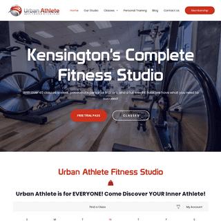 Home - Urban Athlete Fitness Studio