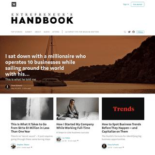 Entrepreneur's Handbook