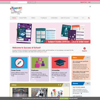 ArchiveBay.com - successatschool.org - Success at School- Careers advice for schools and students