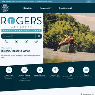 Rogers, AR - Official Website - Official Website
